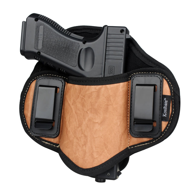 Leather Concealed Carry Holster - Survivors Outlet