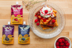 Honey with Berry |  Miel con frutos del Bosque