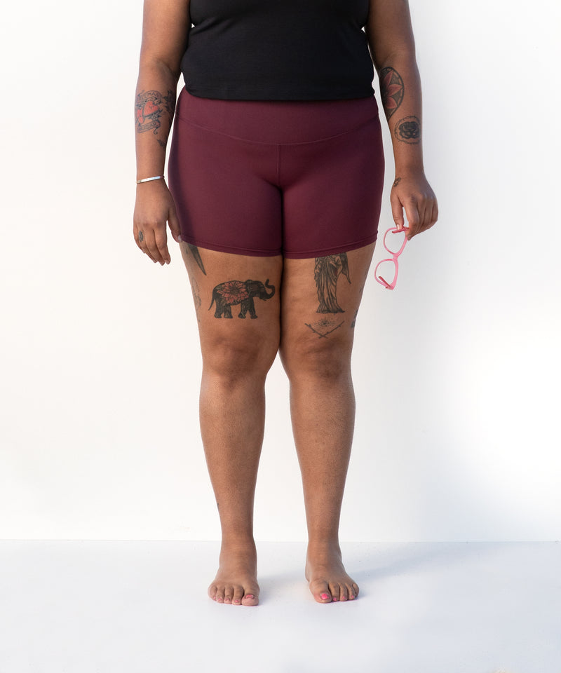 Eclipse Bike Short - Jasper Maroon