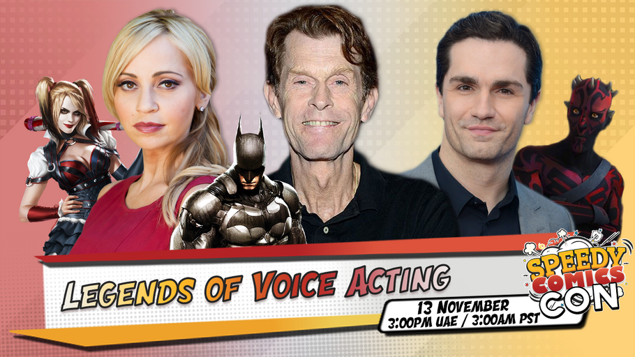 November 13th: Legends of Voice Acting