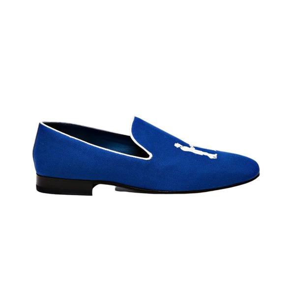 Hadleigh's Signature Cobalt Blue Slipper