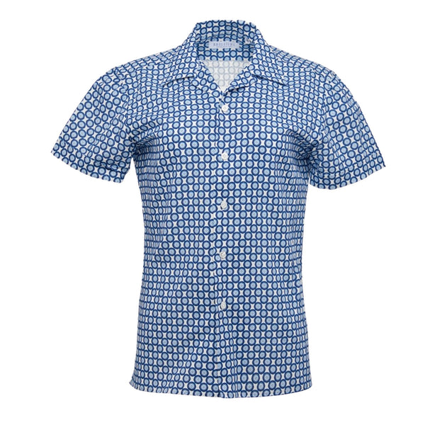 Limited Edition: Connery Kemp Shirt in Blue