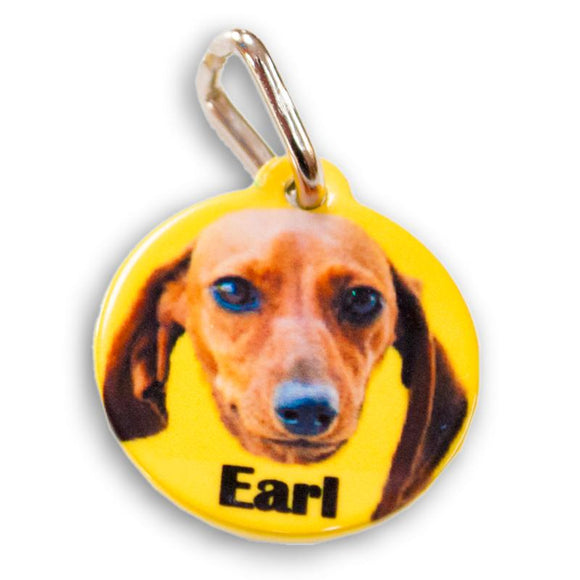 PERSONALIZED PET TAG CIRCLE