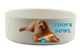 PERSONALIZED PET FOOD BOWL
