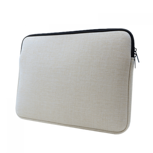 "Personalized 15"" Linen Laptop Sleeve"