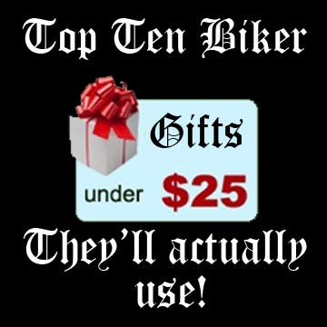 10  Gifts Under $25 That Your Biker Will Actually Use