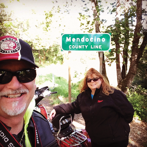 Wine and Redwoods; Motorcycle Vacation In The Sonoma Valley Wine Country