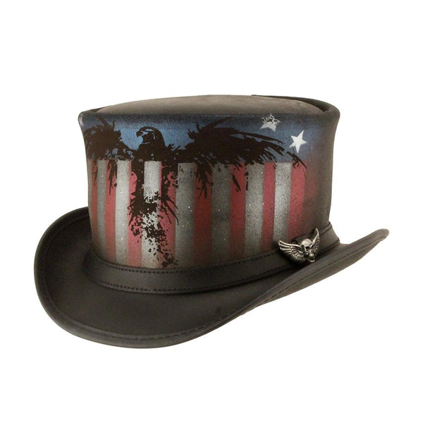 American Eagle Top Hat - The Biker Nation