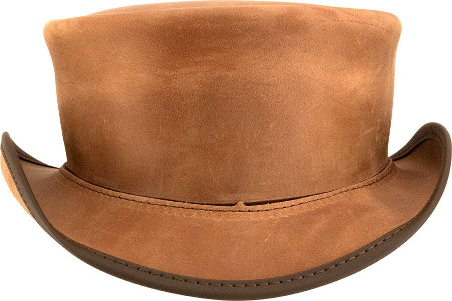 Marlow Plain Top Hat (no band) - The Biker Nation b08f5eeddfb8