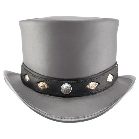 Diamond Inlay Hat Band