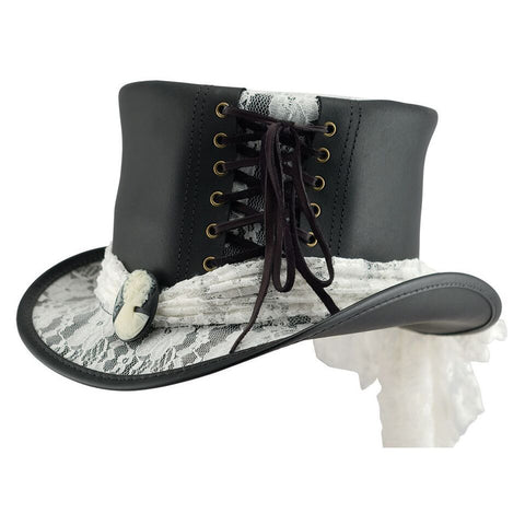 Havisham Ladies Top Hat - The Biker Nation