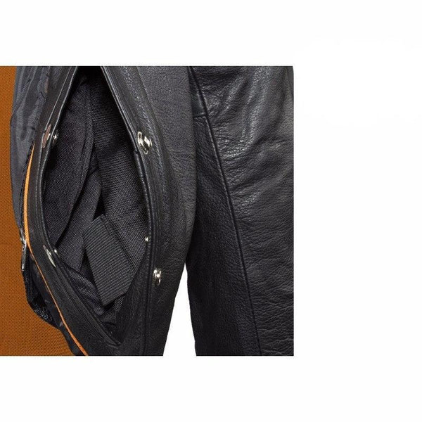 Studded Leather Concealed Carry Jacket for Women -  - The Biker Nation - 4