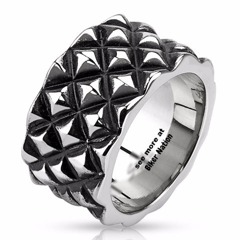 dragon scales ring 7 the biker nation - Biker Wedding Rings
