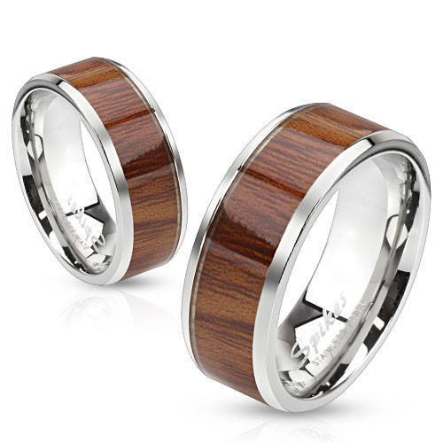 Knock on Wood Ring - 5 / Brown - The Biker Nation