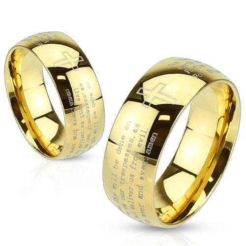 Lords Prayer Rings