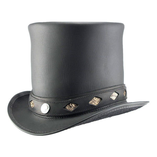 Stove Piper Top Hat Diamond Inlay Band