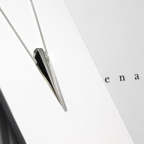 Pendentif | Collection Edgy Pike en argent