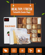Load image into Gallery viewer, Food Vacuum Storage Bags