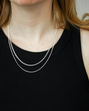 Load image into Gallery viewer, LAVATERA NECKLACE SILVER