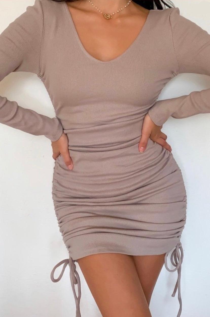 Molly dress (Taupe)
