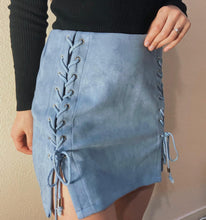 Load image into Gallery viewer, In the clouds skirt (Dusty blue 🦋