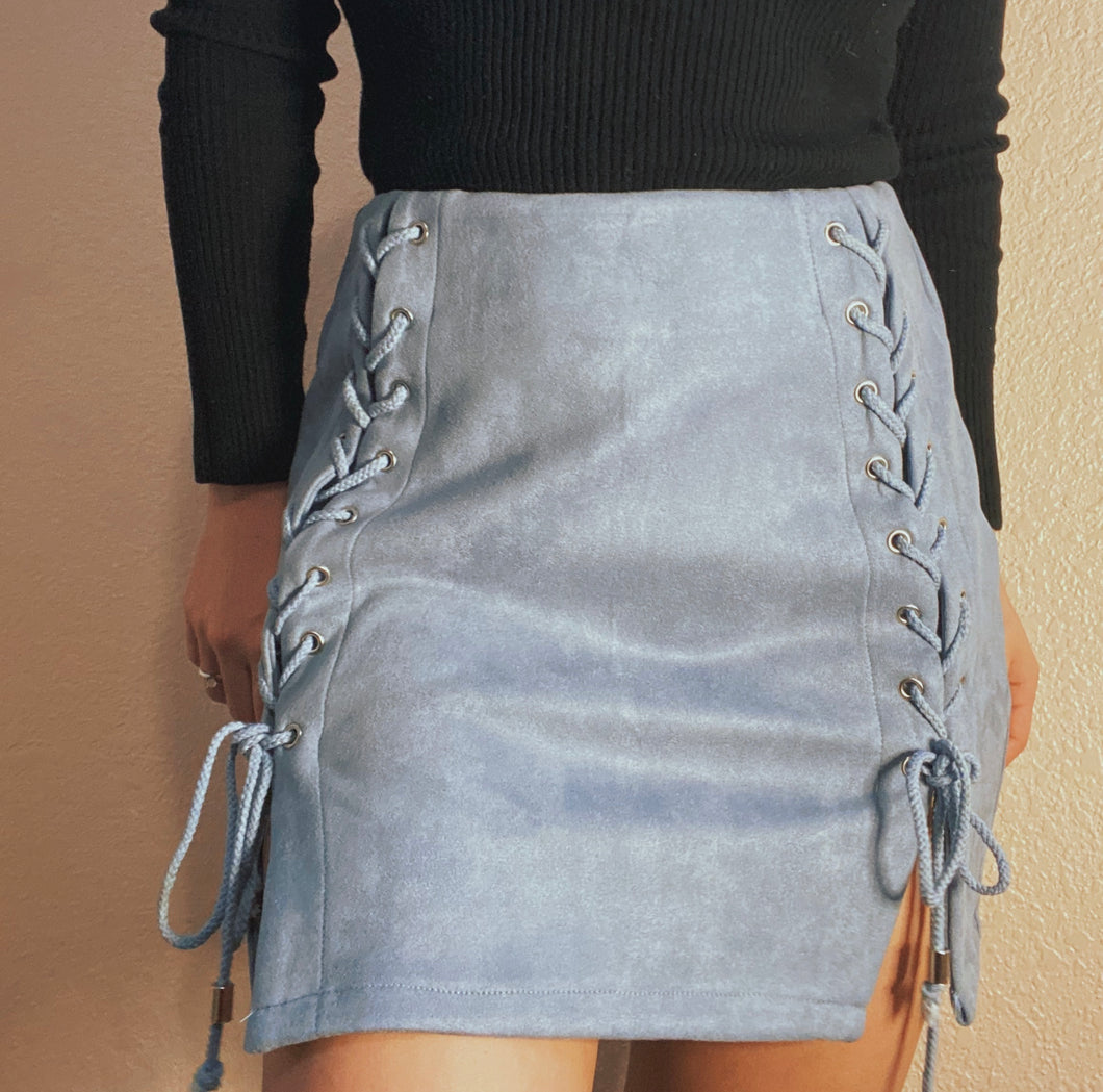 In the clouds skirt (Dusty blue 🦋