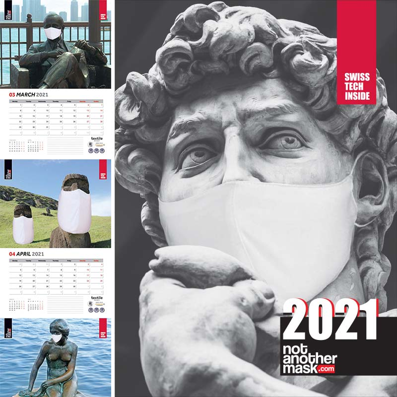 Calendar 2021 | Never Forget - PrintCenter.ro Shop