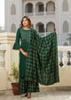 Women Kurta And Palazzo Set