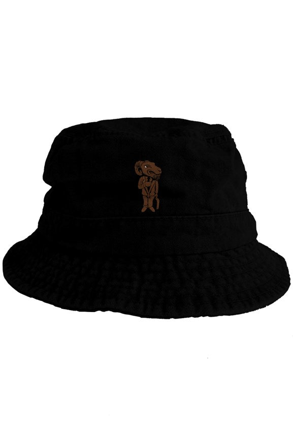 O.G. shXt Black Embroidered bucket