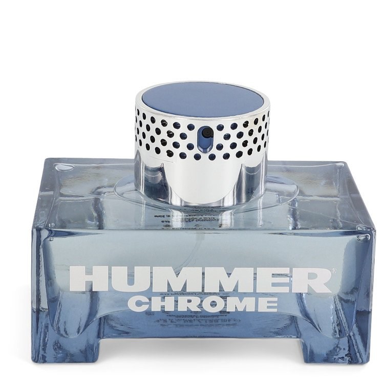 Hummer Chrome by Hummer Eau De Toilette Spray (unboxed) 4.2 oz  for Men
