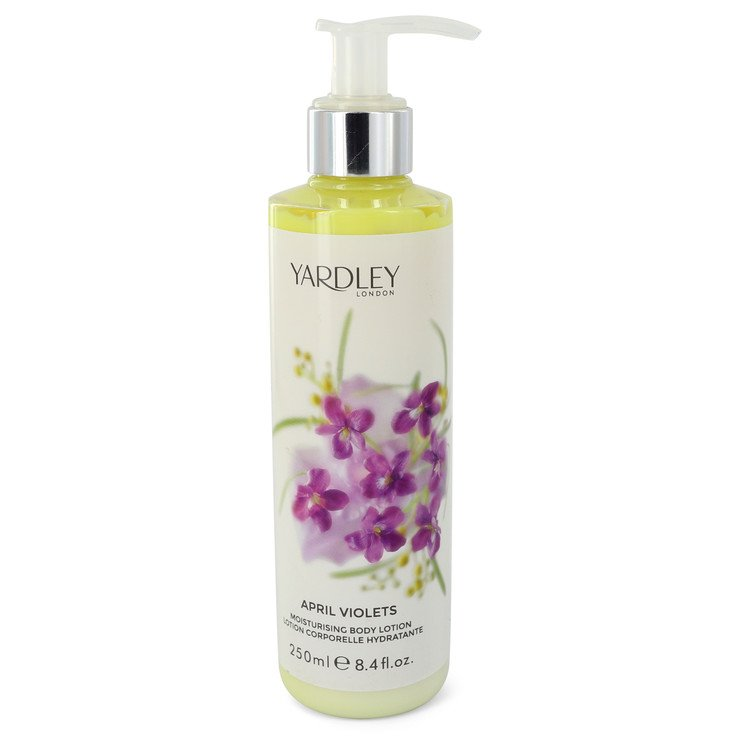 April Violets by Yardley London Body Lotion 8.4 oz for Women