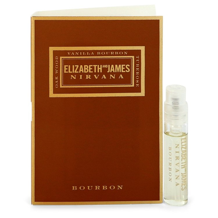 Nirvana Bourbon by Elizabeth and James Vial (sample) .07 oz for Women