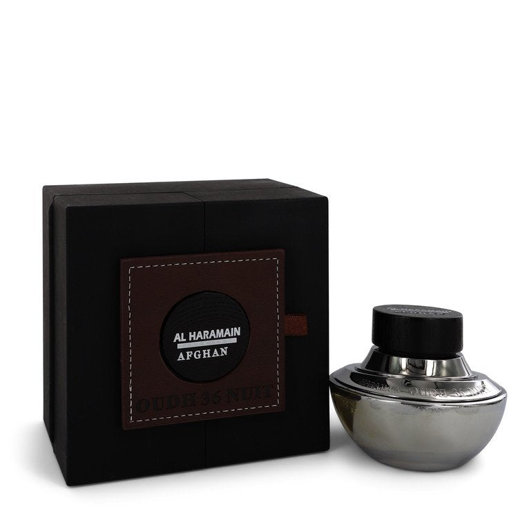 Oudh 36 Nuit Afghan by Al Haramain Eau De Parfum Spray (Unisex Unboxed) 2.5 oz for Men