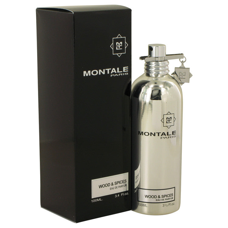 Montale Wood & Spices by Montale Eau De Parfum Spray (unboxed) 3.4 oz for Men