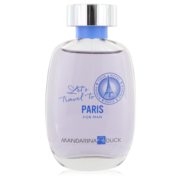 Mandarina Duck Let's Travel to New York by Mandarina Duck Eau De Toilette Spray (unboxed) 3.4 oz for Men