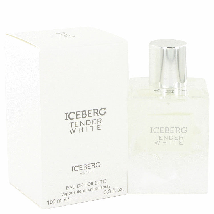 Iceberg Tender White by Iceberg Eau De Toilette Spray (unboxed) 3.3 oz for Women