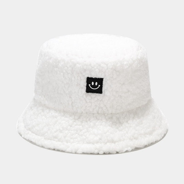 Casual Fisherman Fishing Smiley Face Cap