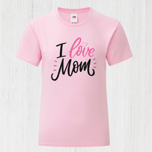 Load image into Gallery viewer, I Love Mum T-Shirt
