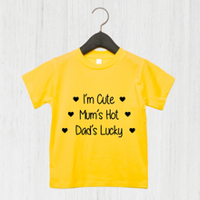 Load image into Gallery viewer, I'm Cute T-Shirt