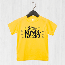 Load image into Gallery viewer, Little Boss T-Shirt
