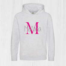 Load image into Gallery viewer, Personalised Initial Name Hoodie