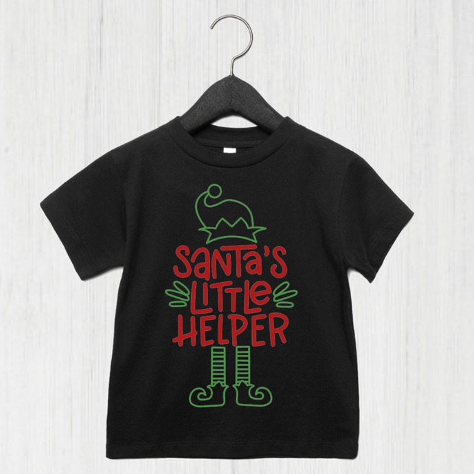 Santa's Little Helper T-Shirt (available 3 months-8 years)