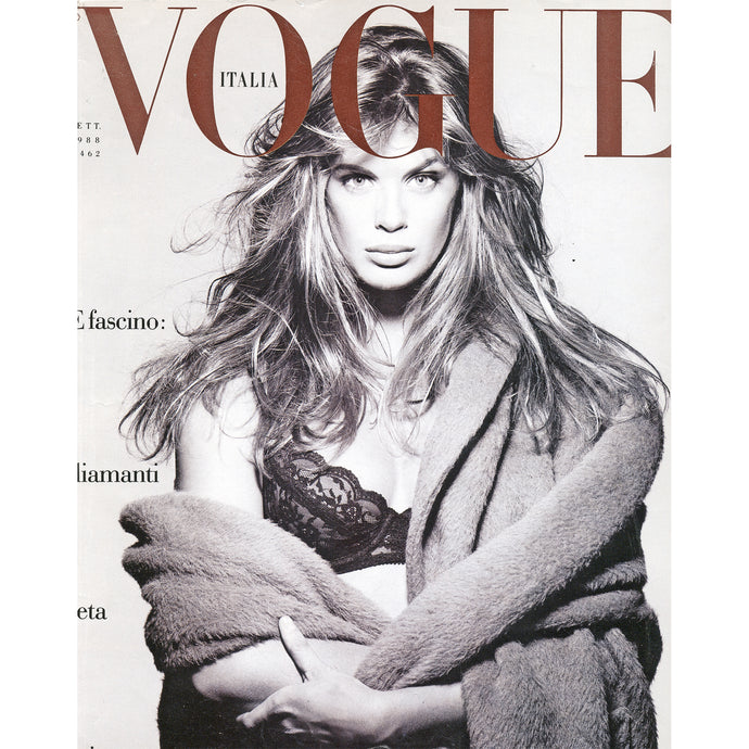 Rachel Hunter Vogue Italia