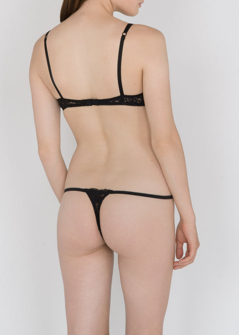 Classic Lace G-string in Basic and Pastel Colors - DEBORAH MARQUIT