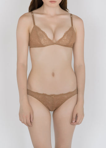 Classic Lace Bikini Brief in Basic Colors and Pastels