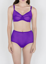 Load image into Gallery viewer, Sheer Essentials - French Tulle High Waist Brief - DEBORAH MARQUIT