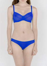 Sheer Essentials - French Tulle Hipster Brief - DEBORAH MARQUIT