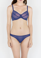 Sheer French Tulle Underwire bra in Basic Colors + Fluorescents
