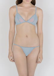 Sheer Essential Pastels - Triangle Bra - DEBORAH MARQUIT