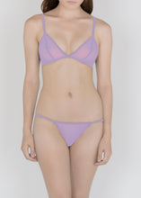 Load image into Gallery viewer, Sheer Essential Pastels - Triangle Bra - DEBORAH MARQUIT